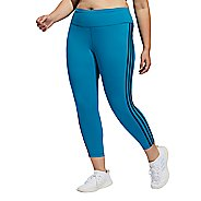 Womens Adidas Believe This 3 Stripe 7/8 Crop Tights