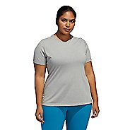 Womens Adidas Go To Tee Short Sleeve Technical Tops