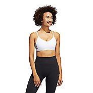 Womens Adidas All Me 3 Stripe Sports Bras