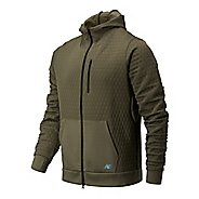 Mens New Balance Nb Heatloft Full Zip Running Jackets