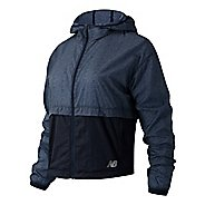 Womens New Balance Printed Impact Run Light Pack Running Jackets