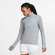 Womens Nike Element Long Sleeve Half Zip Technical Tops