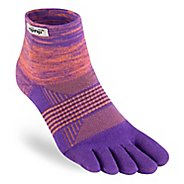 Womens Injinji TRAIL Midweight Mini-Crew CoolMax Socks