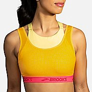 Womens Brooks Drive Mesh Run Bra