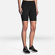 "Womens BrooksMethod 8"" Tight Compression & Fitted Shorts"