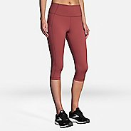Womens Brooks Method 1/2 Crop Tights