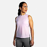 Womens Brooks Atmosphere Sleeveless Technical Tops