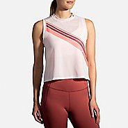 Womens Brooks Further Tank Technical Tops
