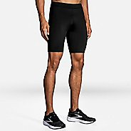 "Mens Brooks Source 9"" Tight Compression & Fitted Shorts"