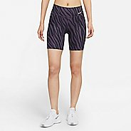 "Womens Nike One 7"" AOP Icon Clash Short Shorts"