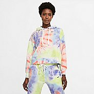 Womens Nike Tie-dye Pullover Training Hoodie Technical Tops