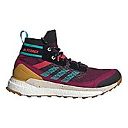 Womens Adidas Terrex Free Hiker Blue Hiking Shoe