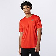 Mens New Balance Q Speed Fuel Short Sleeve Technical Tops