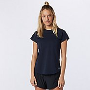 Womens New Balance Q Speed Fuel Jacquard Short Sleeve Technical Tops