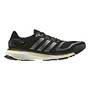 Mens adidas Energy Boost Running Shoe - Black/Silver 10.5