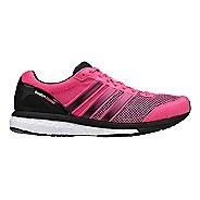 Womens adidas Adizero Boston 5 Boost Running Shoe - Neon Pink/Black 6