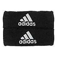 adidas Interval 1-Inch Muscle Band Handwear - Black/White