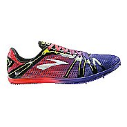 Brooks The Wire 3 Track and Field Shoe - Deep Blue/Orange 9