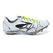 Brooks 2 QW-K Track and Field Shoe - White/Black 14