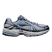 Womens Brooks Adrenaline GTS 12 Running Shoe - White/Blue 5
