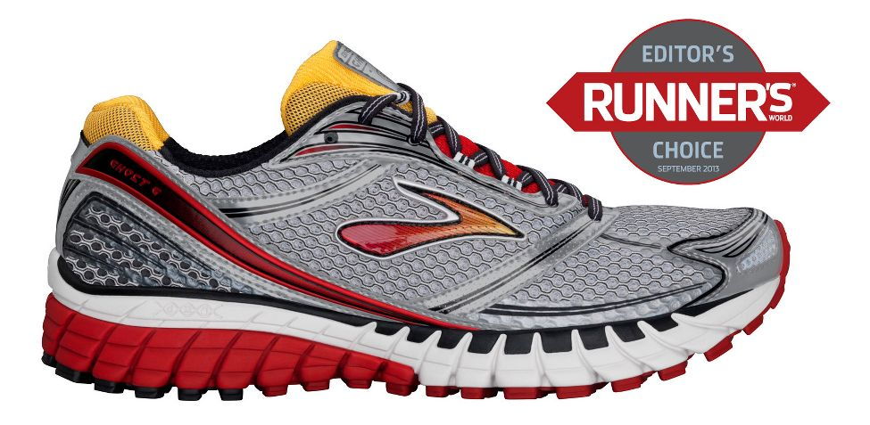 Mens Brooks Ghost 6 Running Shoe at