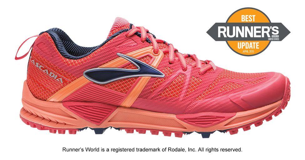 9bfd8eebdb5 Womens Brooks Cascadia 10 Trail Running Shoe at Road Runner Sports