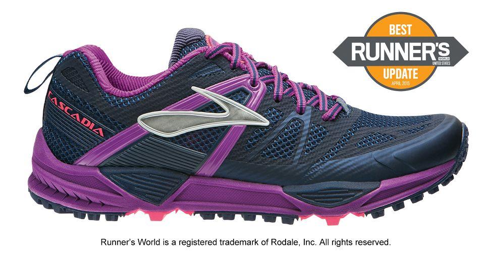 993a693da46 Womens Brooks Cascadia 10 Trail Running Shoe at Road Runner Sports