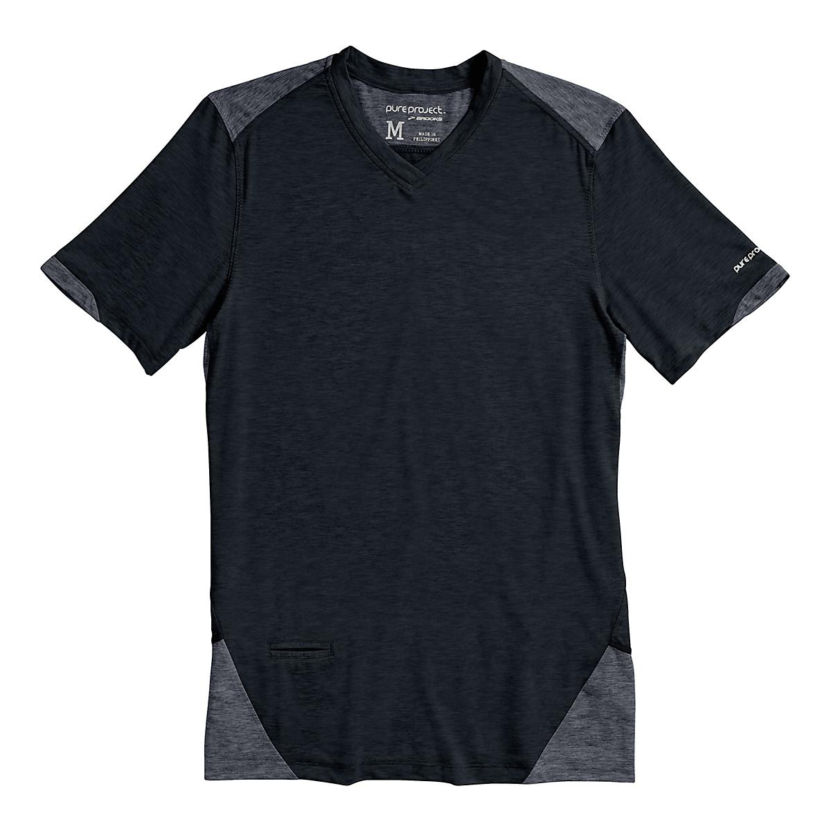 32e4036a83e97 Mens Brooks PureProject Short Sleeve Technical Top at Road Runner Sports