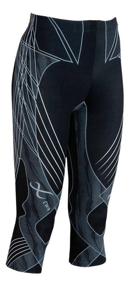 fa0a1d37209b4 Womens CW-X 3/4 Length Revolution Capri Tights at Road Runner Sports