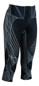 Womens CW-X 3/4 Length Revolution Capri Tights