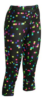 Womens CW-X 3/4 Length Stabilyx Print Capris Tights
