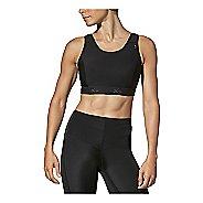 Womens CW-X Stabilyx Running Sports Bras - Black 36DD
