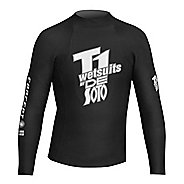 De Soto T1 First Wave Concept 5 Pullover Long Sleeve No Zip Technical Tops - Black 5