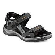 Womens Ecco Yucatan Sandals Shoe - Black/Mole 12.5