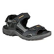 Mens Ecco Offroad-Yucatan Sandals Shoe - Black/Mole 16.5