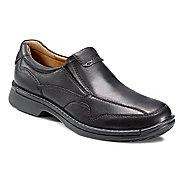 Mens Ecco USA Fusion Casual Slip On Casual Shoe - Black 8.5