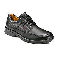 Mens Ecco USA Fusion Moc Toe Tie Casual Shoe - Black 8.5