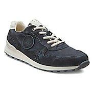 Womens Ecco CS14 Retro Sneaker Casual Shoe - Black/Shadow White 41