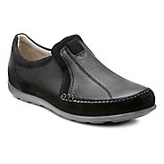 Womens Ecco Cayla Slip On Casual Shoe - Black/Black 36