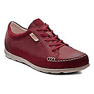 Womens Ecco Cayla Tie Casual Shoe - Port/Port 39