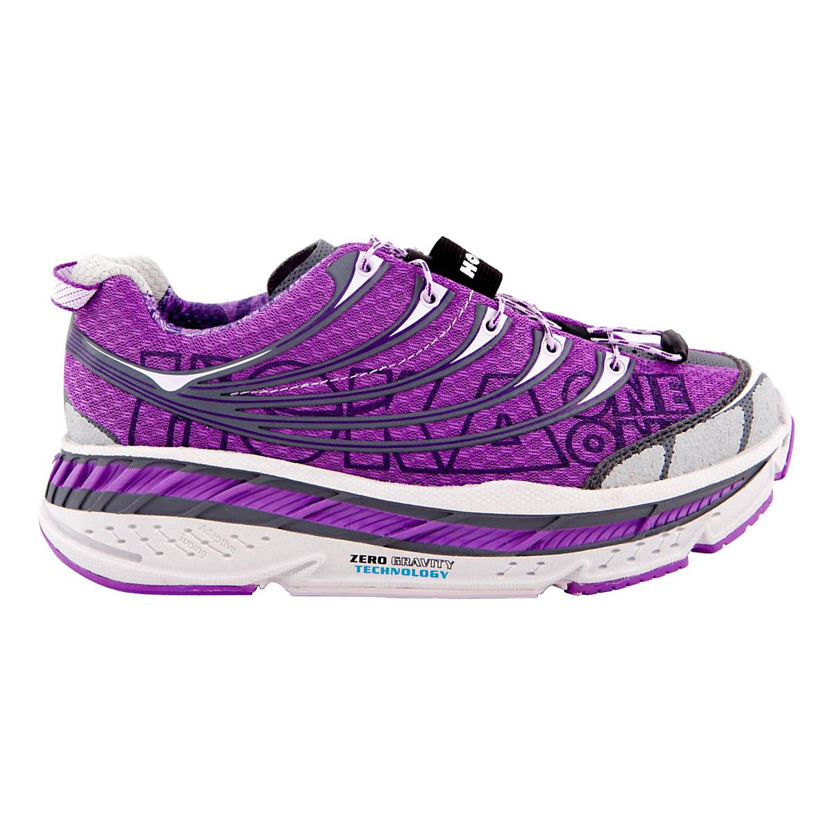98eb48f8dca Womens Hoka One One Stinson Tarmac Running Shoe at Road Runner Sports