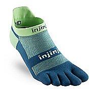 Injinji Footwear RUN Lightweight No Show CoolMax Socks - Seafoam L