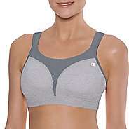 Womens Champion Spot Comfort Full Support Sports Bra - Heather Grey 40DD