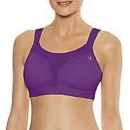 Womens Champion Spot Comfort Full Support Sports Bra - Plum 34C