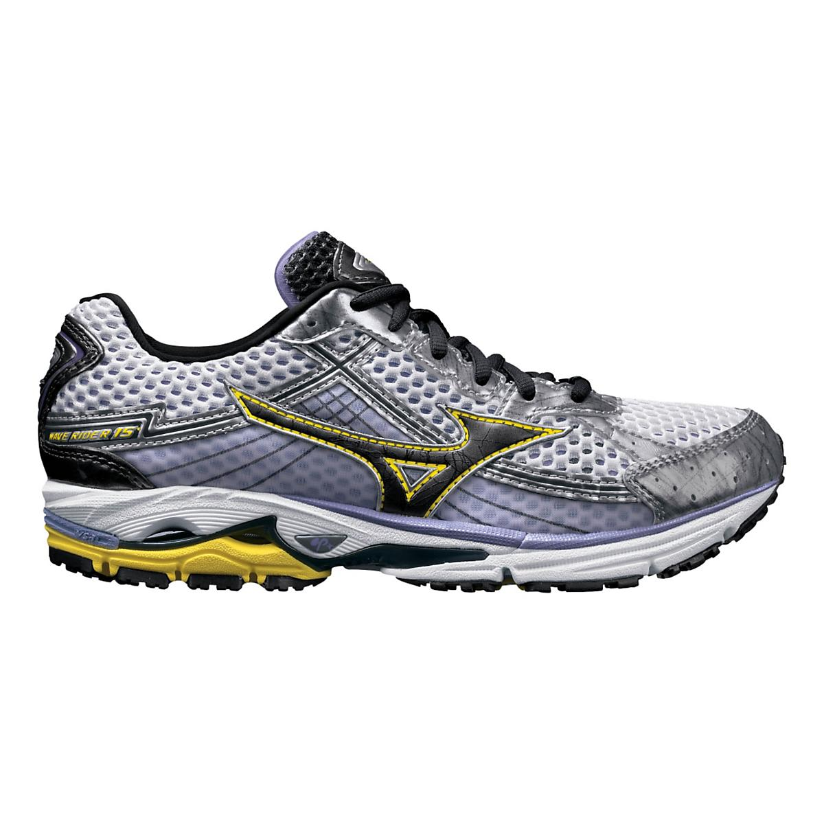 0c3b421d23f3 Womens Mizuno Wave Rider 15 Running Shoe at Road Runner Sports