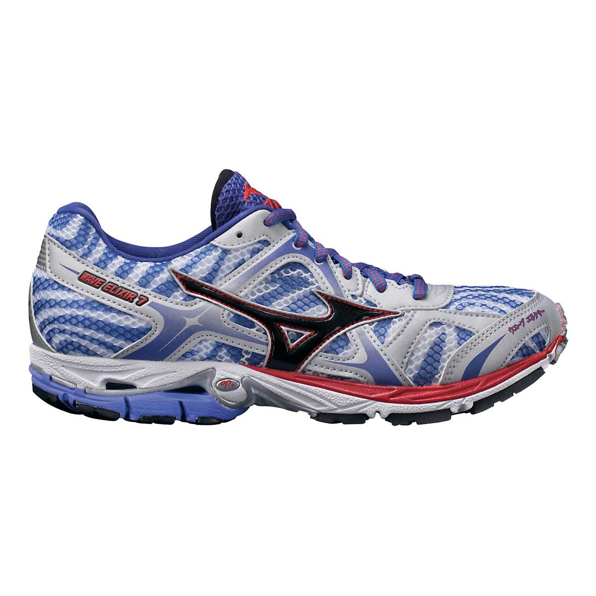 c1a794e7650d Womens Mizuno Wave Elixir 7 Running Shoe at Road Runner Sports
