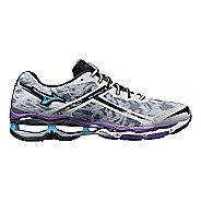 Womens Mizuno Wave Creation 15 Running Shoe - White/Purple 6