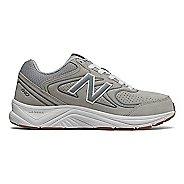 Womens New Balance 840v2 Running Shoe - Grey/White 10