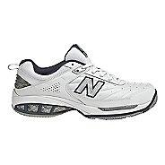 Mens New Balance 806 Court Shoe - White 7