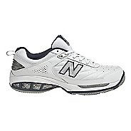 Mens New Balance 806 Court Shoe - White 9